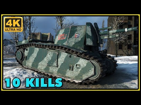 105 leFH18B2 - 10 Kills - 2,2K Damage - World of Tanks Gameplay