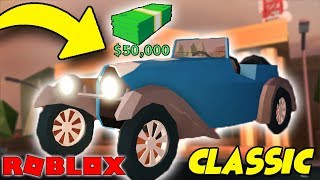 A NEW VEHICLE in the JAILBREAK! Classic/HRG for $50.000! • ROBLOX [#153]