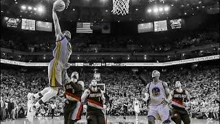 NBA PLAYOFFS-Golden State Warriors vs Portland Trail Blazers Game-1