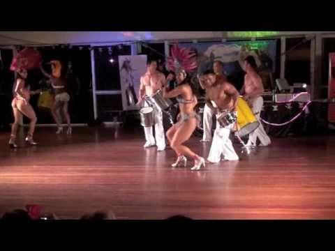 SAMBA DANCERS (HOT) with Gianne Abott - Amy Mills - Cristina Ramon @ DouDouLe Latin Dance Camp 2010
