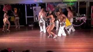 SAMBA DANCERS (HOT) with Gianne Abott - Amy Mills - Cristina Ramon @ DouDouLe Latin Dance Camp 2010