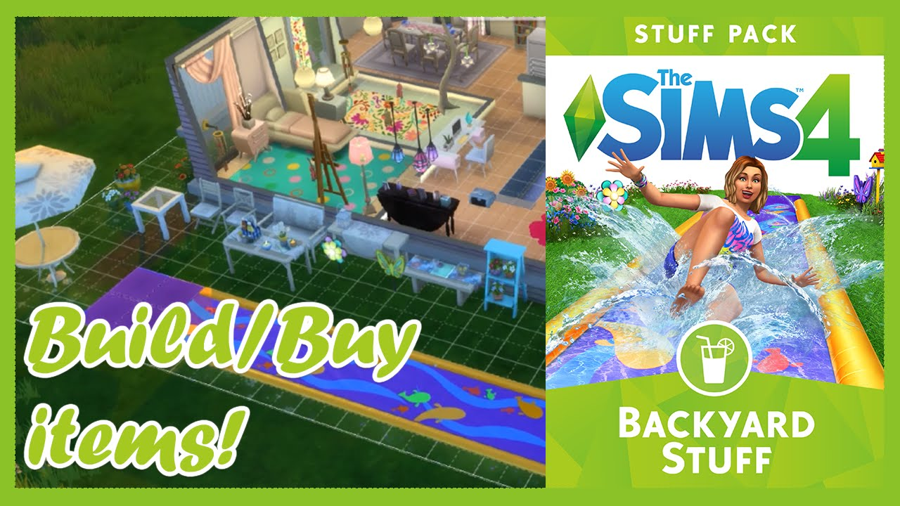 Backyard Items the sims 4 backyard stuff build/ buy items! - youtube