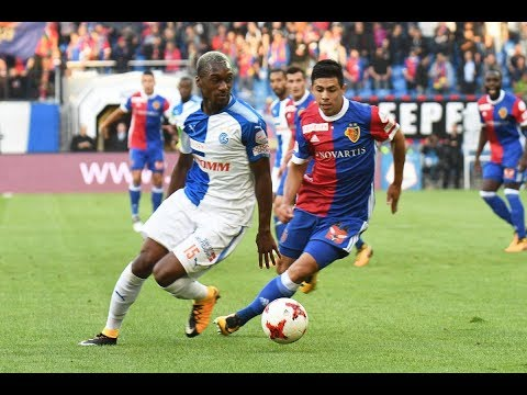 Highlights: FC Basel vs. Grasshopper-Club Zürich (3:2) - 10.08.2017