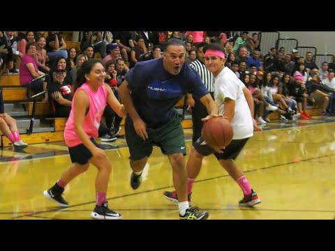 Chino Hills Teachers VS Students Game - Staff Schools Students! | Midnight Madness