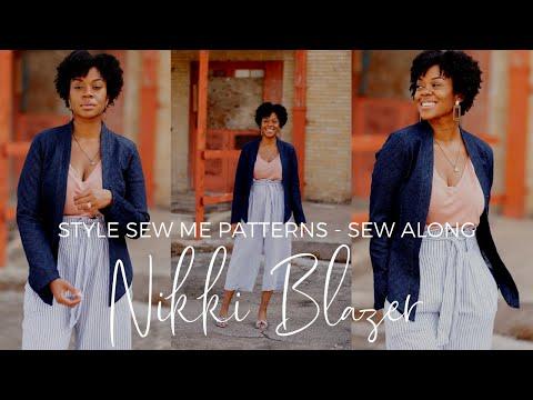 Nikki Blazer Sew Along