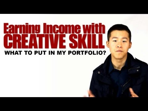 Earning Income with your Creative Skill   What EXACTLY do I put in my Portfolio?