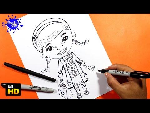 Doctora Juguetes /Como Dibujar a Doc /How to draw Doc