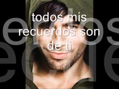 Tu Vacío (letra) Enrique Iglesias