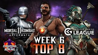 Champions of the Realms: Week 6 TOP 8 - Tournament Matches - MK11