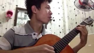 Dong xanh tho guitar