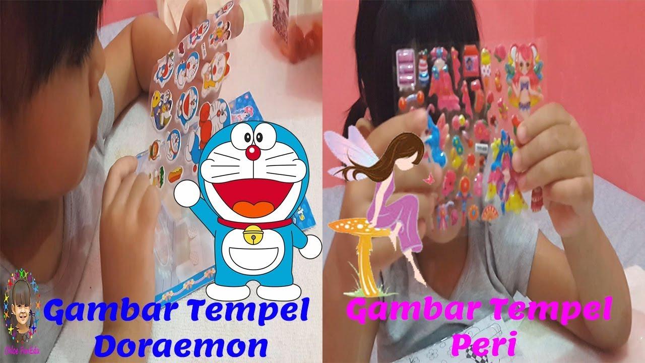 Mainan Stiker Gambar Tempel Doraemon Dan Peri Youtube Maainan Doraemoon Kyutt Belajarbahasainggris Gambartempel