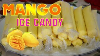How to make Mango Ice Candy