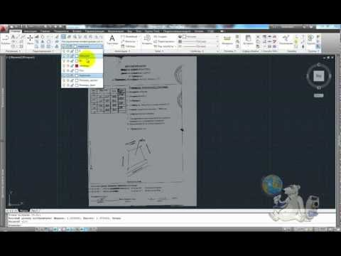 Draw a polar coordinate system. AutoCAD
