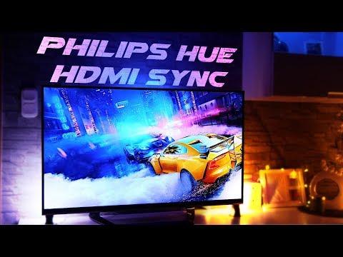 So hast du Filme schauen & Gaming noch nie erlebt   Philips Hue Sync Box Review