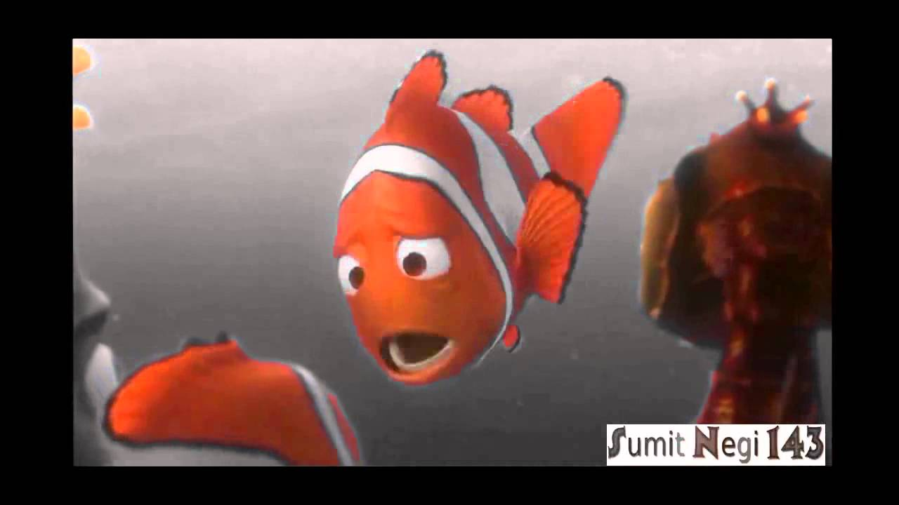 Colour De-Saturation, Finding Nemo Scene - YouTube