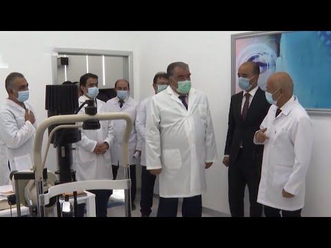 В Душанбе открыли новое здание медколледжа и центр диагностики