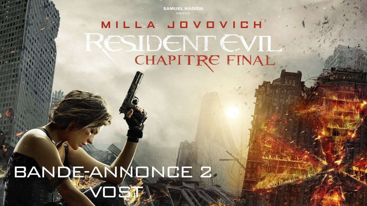 RESIDENT EVIL CHAPITRE FINAL - Bande-annonce 2 - VOST