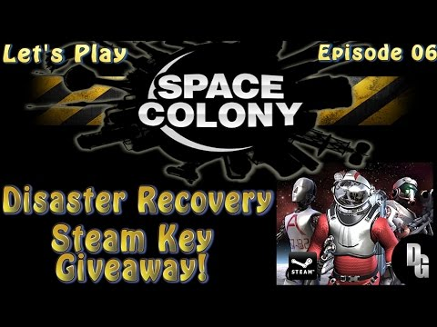 "Space Colony Let's Play ► Episode 06 ► ""The Lovely Lisa"" Attacks! / Steam Key Giveaway!"