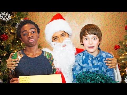 If Santa Was a Jerk (ft. The Kids of Stranger Things)