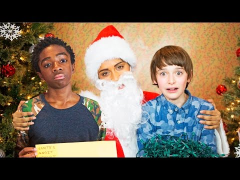 Thumbnail: If Santa Was a Jerk (ft. The Kids of Stranger Things)