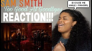 Sam Smith - Too Good At Goodbyes (Live on SNL) l REACTION!!!