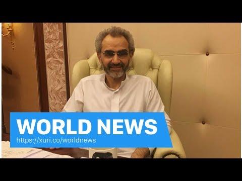 World News - Saudi Arabian billionaire Prince Alwaleed released as corruption probe wind d