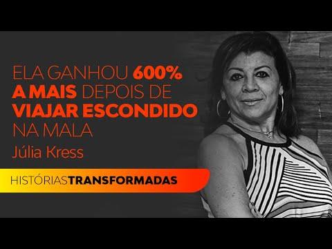 Foi escondida  para o Rio de Janeiro dentro de uma mala e aumentou 600% de seus ganhos | Julia Kress