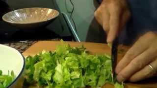 Chicken Cordon Bleu, Mashed Potato And Caesar Salad/pechugas De Pollo Rellenas - 3