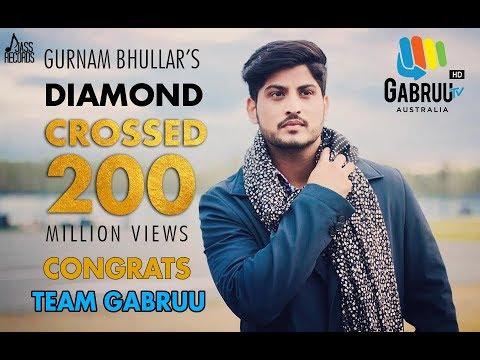 diamond-|-gurnam-bhullar-|-200-million-celebration-at-gabruu-|-phone-maar-di-|-surkhi-bindi-|-gabruu
