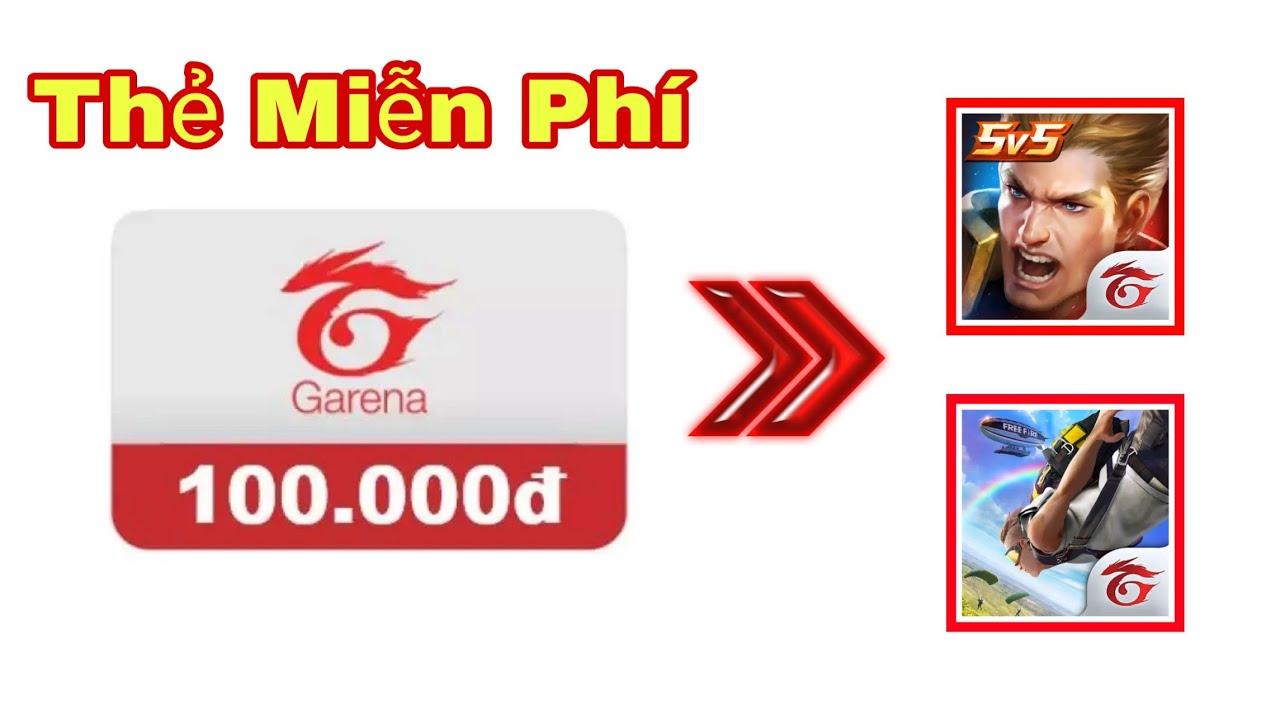 Cách kiếm thẻ Garena free cực đơn giản | Thẻ cào miễn phí