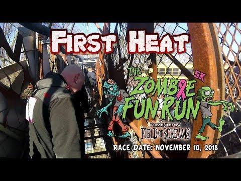 2018 Field of Screams Zombie Fun Run - Heat 1