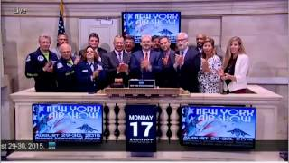 NYSE Opening Bell: The Port Authority of NY & NJ - NY Air Show - Stewart International Airport