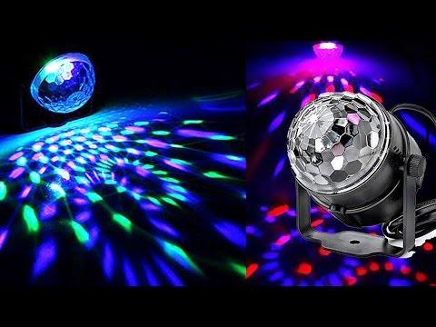 RGB Voice Control Mini Crystal Magic Ball