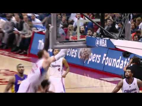 "Blake Griffin POSTERIZES Pau Gasol ""2nd Best Dunk Of The Season"" 