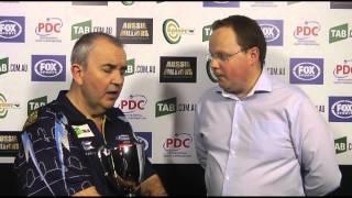 Sydney Darts Masters | Phil Taylor retains Sydney Darts Masters title!