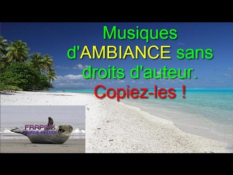 Top 10 musiques d'AMBIANCE sans droits d'auteur ►No Copyright ♬ ♫ ♪ ♩ 🎶🎵 (♥‿♥)