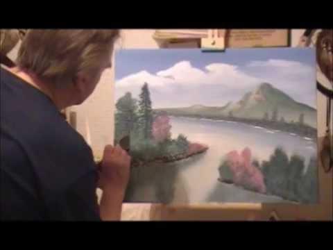 cours n 1 en peinture acrylique paysage et montagne color s jean marie lesage youtube. Black Bedroom Furniture Sets. Home Design Ideas