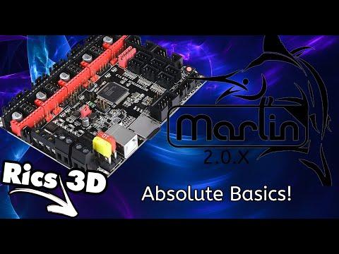 Marlin 2.0...absolute Basics (Part 1/2) // Rics_3D REUPLOAD!!! INFO Im Video Ergänzt!!!