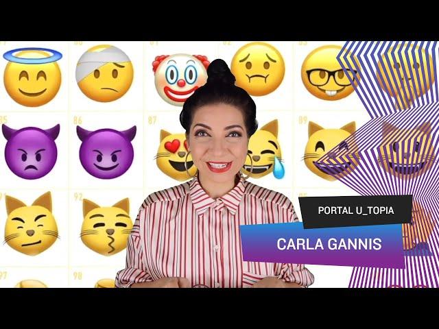 Portal U_topia - Carla Gannis, emojis, animação digital e o jardim das delícias