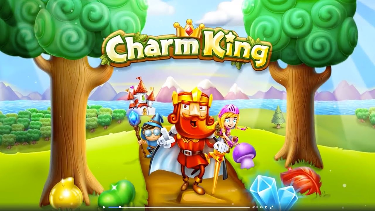 ApkMod1.Com Charm King v4.9.0 + MOD (Mod Gold) download free Android Game Puzzle