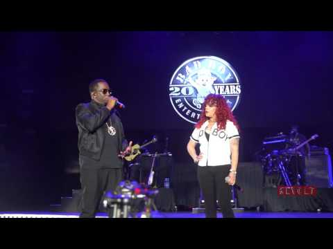 Puff Daddy and Faith Evans sing together at Essence Fest