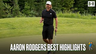 Aaron Rodgers Came Up Clutch Against Tom Brady And Phil Mickelson In The Match 2021