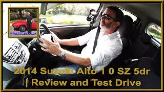 2014 Suzuki Alto 1 0 SZ 5dr | Review and Test Drive