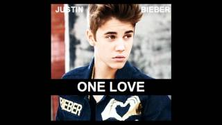 Justin Bieber - One Love Karaoke / Instrumental with lyrics