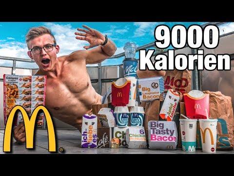 Ich esse 1 Tag lang nur MCDONALDS Gutscheine🍔💰 I 9000 Kalorien Eskalation😳