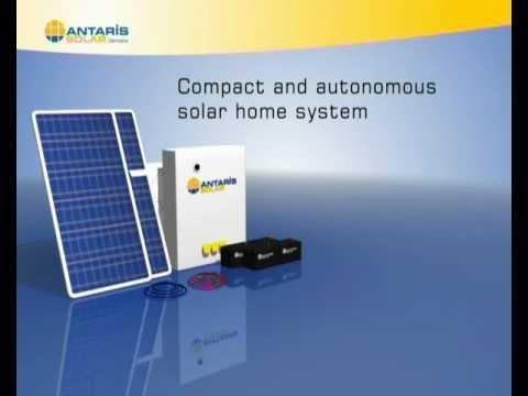 Solar-Inselanlage eKiss-Box / Solar PV Stand-alone System eKiss-Box