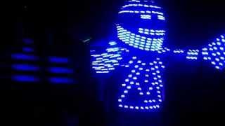 ROBERMAN ROBOT LED LUMININOSO