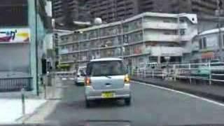 川平料金所まで(長崎市昭和町・川平町より)