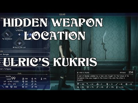 Secret Weapons Locations Final Fantasy Xv 15 Funnydog Tv