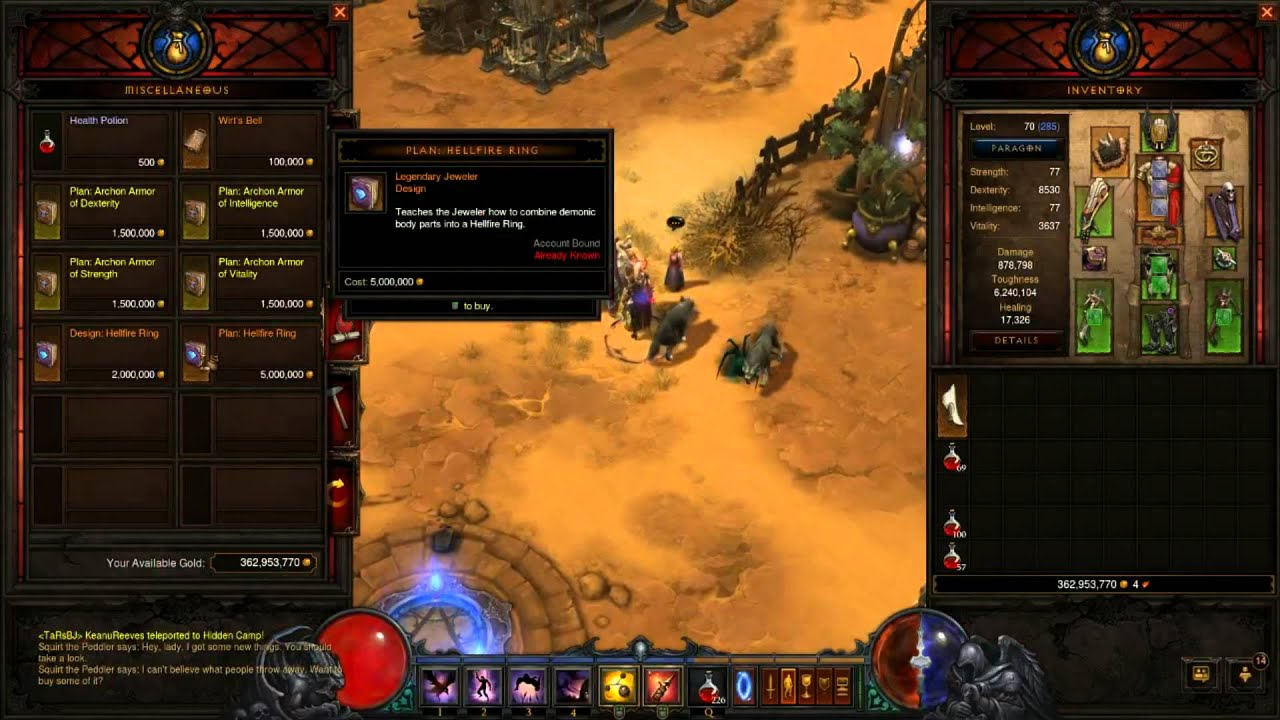 Hellfire Ring Diablo  Guide